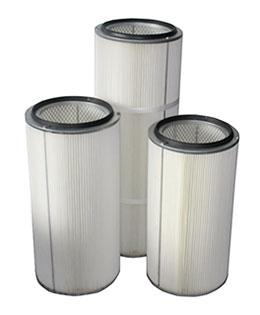 Water and Oil Repellent Cartridge Filter Element
